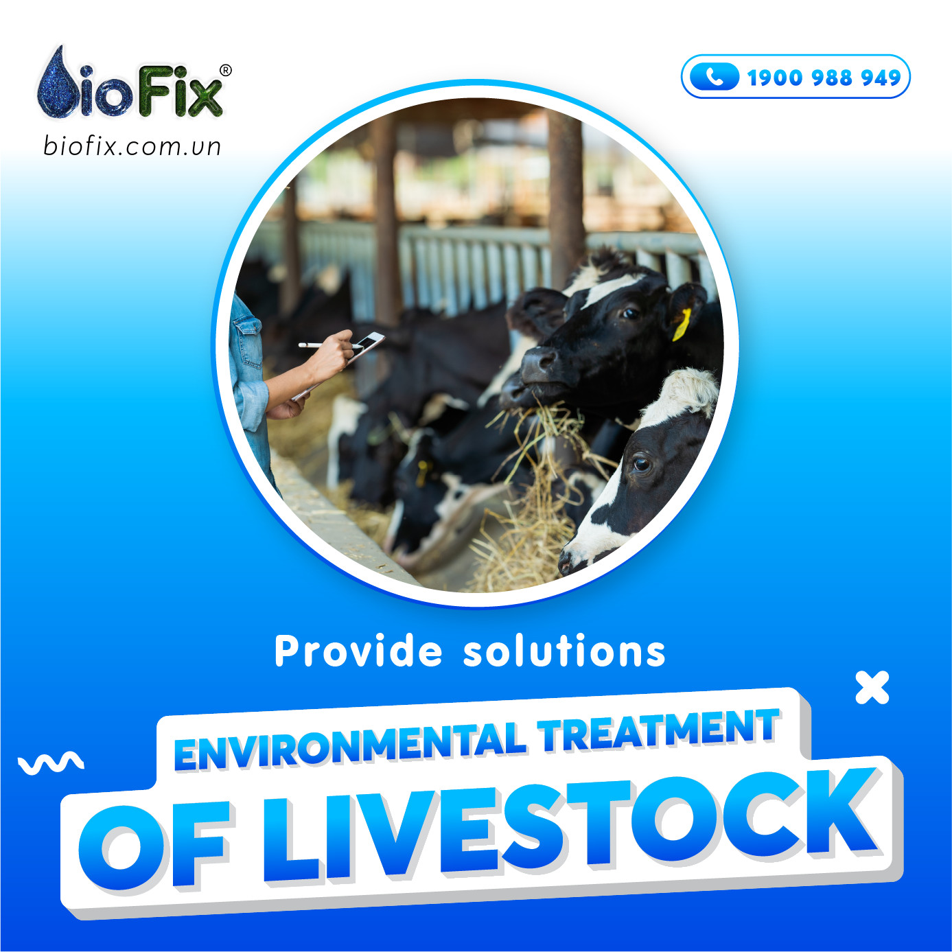 All environmental solutions for the livestock industry